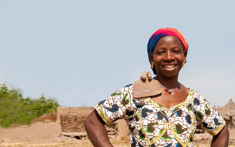 Zulienne is one of the women supported by our She Grows project in Mali