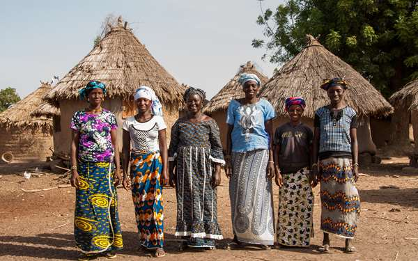 Women in Koulikoro that will be supported through the She Grows project.